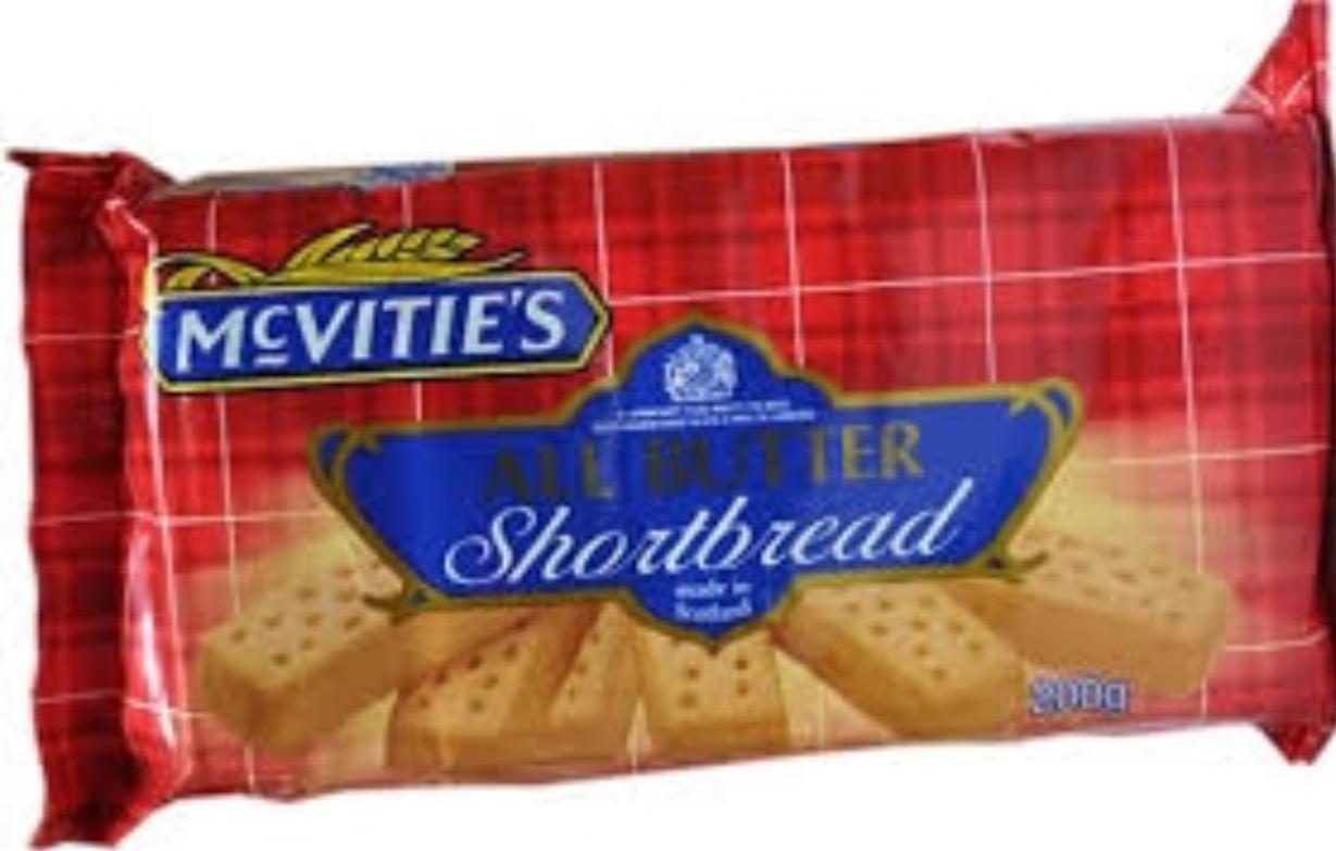Mcvities Short Bread Empire International Foods